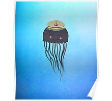 Jellyfish Sailor  Poster