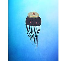 Jellyfish Sailor  Photographic Print
