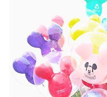 Castle balloons  by tangledinmagic