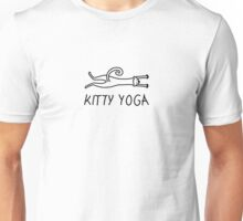 Kitty yoga 10 Unisex T-Shirt