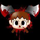 Villager Death Stare Smash Bros SSB by pierceistruth
