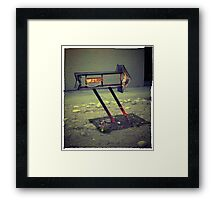 Right Direction Framed Print