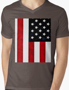 God Bless The USA Mens V-Neck T-Shirt