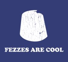 Fezzes are cool - Dr Who by PPWGD