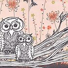 Owls 16 by kewzoo