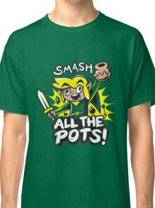 Smash Pots Zelda Link Classic T-Shirt