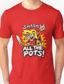 Smash Pots Zelda Link T-Shirt