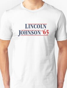 Lincoln Johnson 65 Unisex T-Shirt