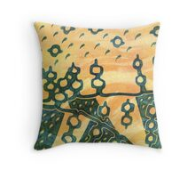 Looking To Mystic Lands (Daily Biscuit #51) Throw Pillow