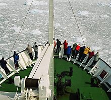 Sailing Lemaire Passage Antarctica by Andy Anderson