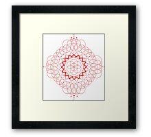 Sacred Geometry - Seed of Life Framed Print