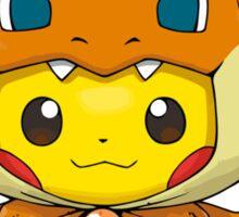 Mega Charizard Pikachu Y Sticker