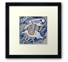 Flying Elephant Framed Print