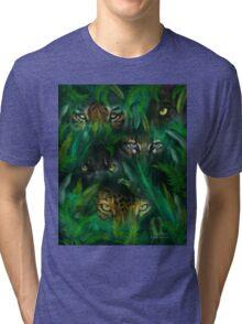 Jungle Eyes Tri-blend T-Shirt