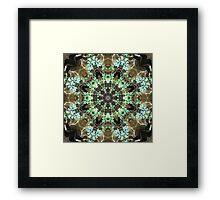 Silent Ivy Fractured Framed Print
