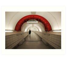 Waterloo & City Art Print