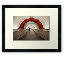 Waterloo & City Framed Print