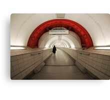 Waterloo & City Canvas Print