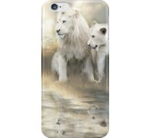 White Lions - A New Beginning iPhone Case/Skin