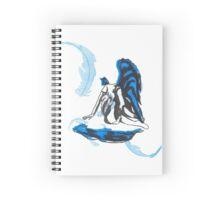 Weeping Angel Spiral Notebook