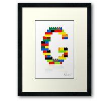 """""""G"""" Framed Print"""