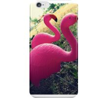 04-26-11:  I Have Flamingos!!!! iPhone Case/Skin