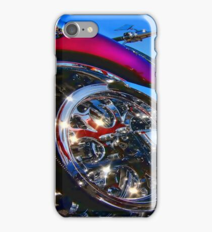 """"""" Exhausted """" iPhone Case/Skin"""
