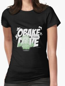 Obake Dave Womens Fitted T-Shirt
