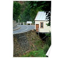 Walhalla Fire Station,over Stringers Creek Poster