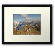County Kerry mountains Framed Print