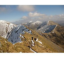 County Kerry mountains Photographic Print