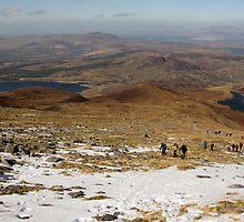 Caher Ascent by John Quinn