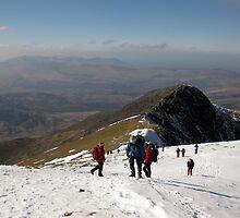 Carrauntoohil Ascent by John Quinn