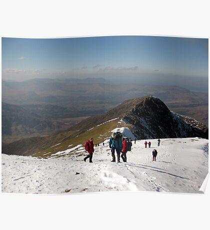 Carrauntoohil Ascent Poster