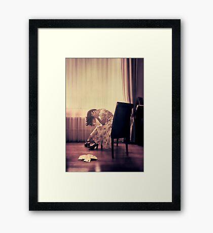 past present (im)perfect Framed Print