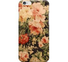 Floral Piece #1  iPhone Case/Skin