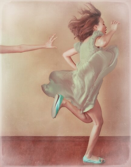 run, baby run! by Vanessa Ho