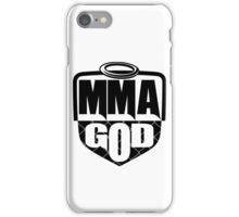 MMA God (Clean Version) iPhone Case/Skin