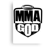MMA God (Clean Version) Canvas Print