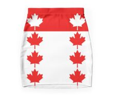 Canadian Flag Inspired Pencil Skirt