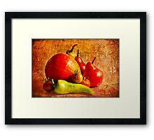 Harvest Still Life Framed Print