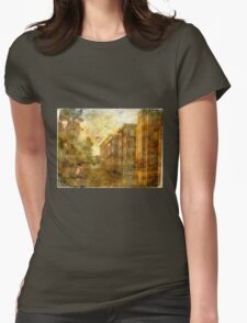 Society's Decay Womens Fitted T-Shirt
