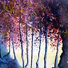 Waterpaint-trees by Elizabeth Kendall