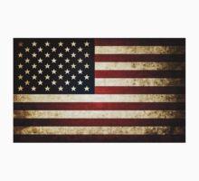 US Flag One Piece - Short Sleeve