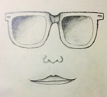 Sunglasses Face by aiblock