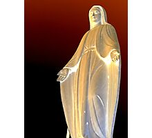 Mother mary Statue at Genova  Photographic Print