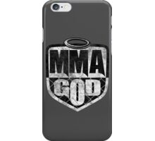 MMA God (Distressed Version) iPhone Case/Skin