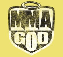 MMA God (Distressed Version) One Piece - Short Sleeve