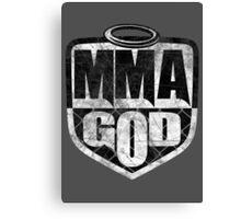 MMA God (Distressed Version) Canvas Print
