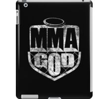 MMA God (Distressed Version) iPad Case/Skin